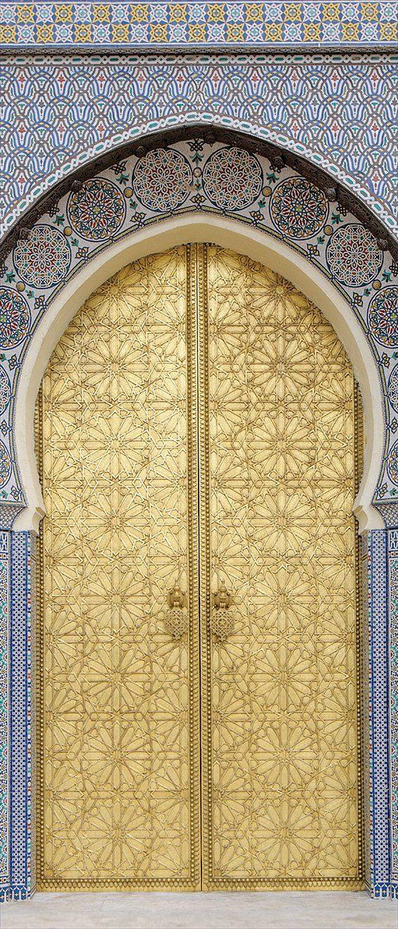 MYSPOTTI Duschrückwand »fresh F2 Ancient Door«, 90 x 210 cm