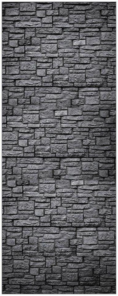 Myspotti duschr ckwand fresh f1 steinwand anthrazit 100 x 255 cm online kaufen otto - Steinwand anthrazit ...