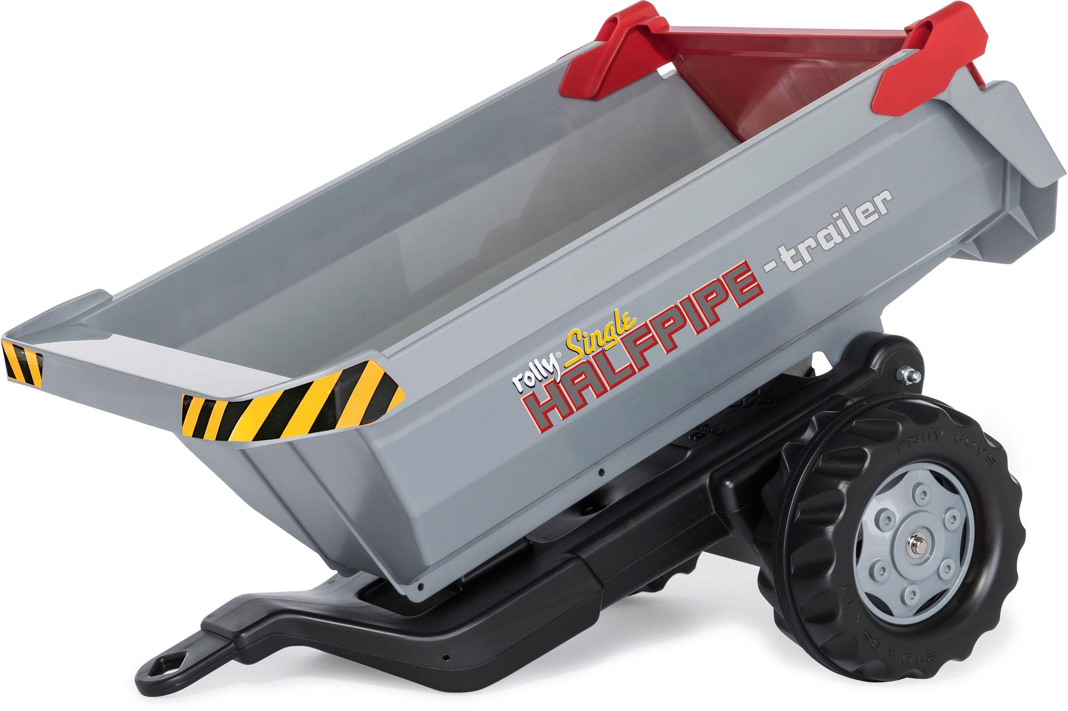 rolly® toys Anhänger Rundmulden-Kipper, »rollyHalfpipe Single«