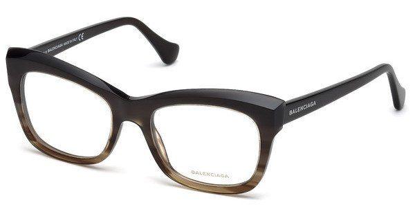 Balenciaga Damen Brille » BA5069«, braun, 050 - braun