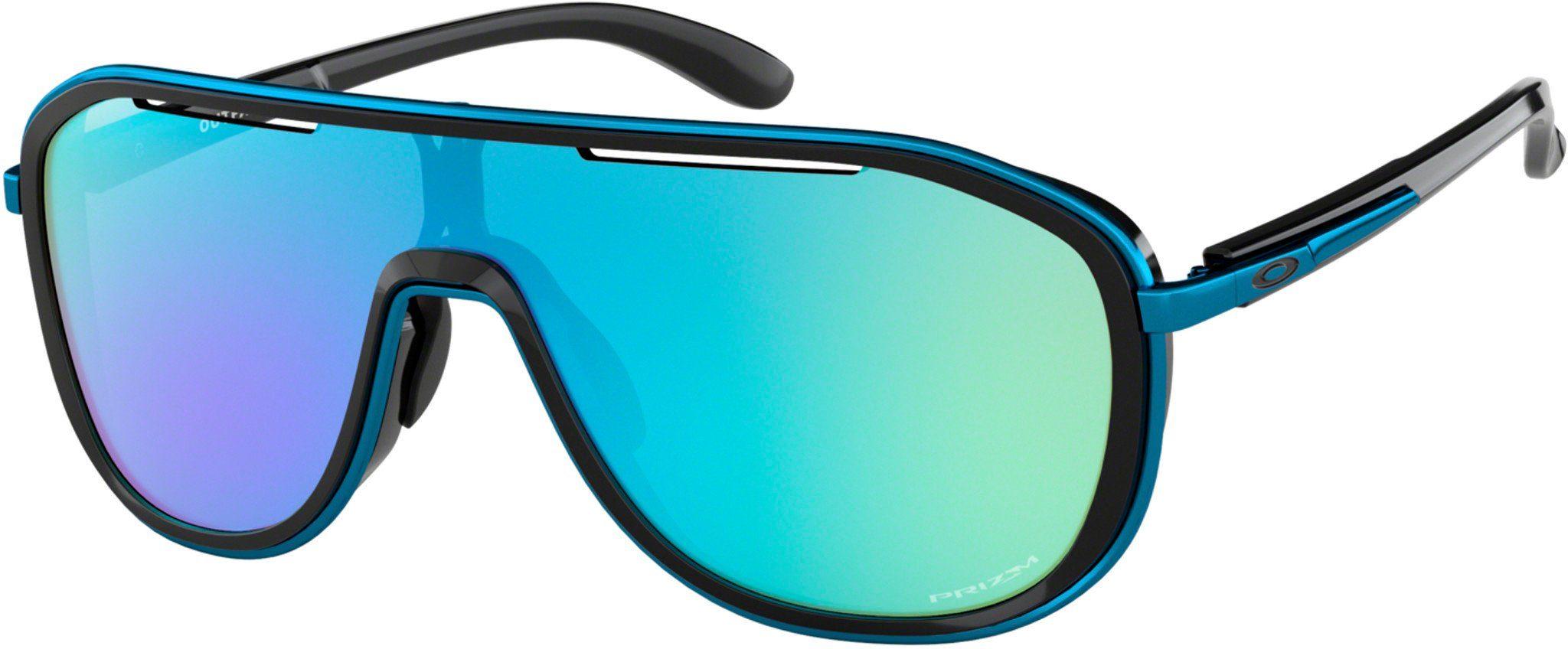 Oakley Radsportbrille »Outpace Sunglasses«, schwarz, schwarz