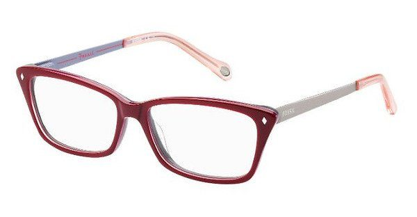 Fossil Damen Brille » FOS 6030«, rot, 32O - rot