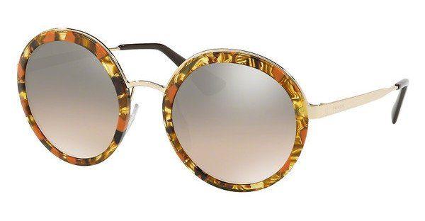PRADA Damen Sonnenbrille »PR 50TS«, Roundförmige Vollrandsonnenbrille online kaufen | OTTO
