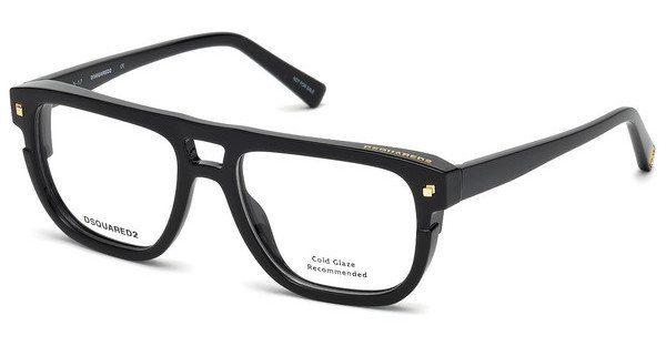 Dsquared2 Herren Brille » DQ5250«, schwarz, 001 - schwarz