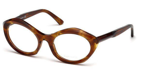 Balenciaga Damen Brille » BA5078«, braun, 047 - braun
