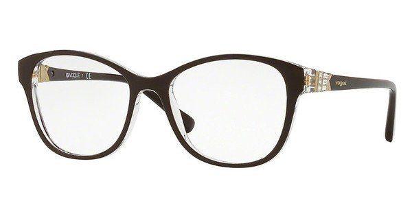 VOGUE Vogue Damen Brille » VO5169B«, schwarz, W44 - schwarz
