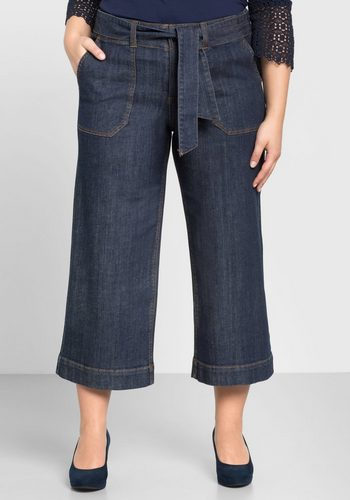 Damen sheego Denim Weite Jeans blau | 04054697877663