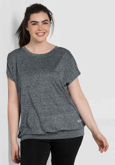 Sheego T-Shirt aus Funktionsmaterial