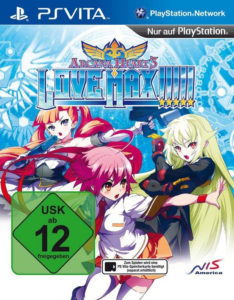 Nis Playstation Vita Spiel Arcana Heart 3 Love Max Relaunch