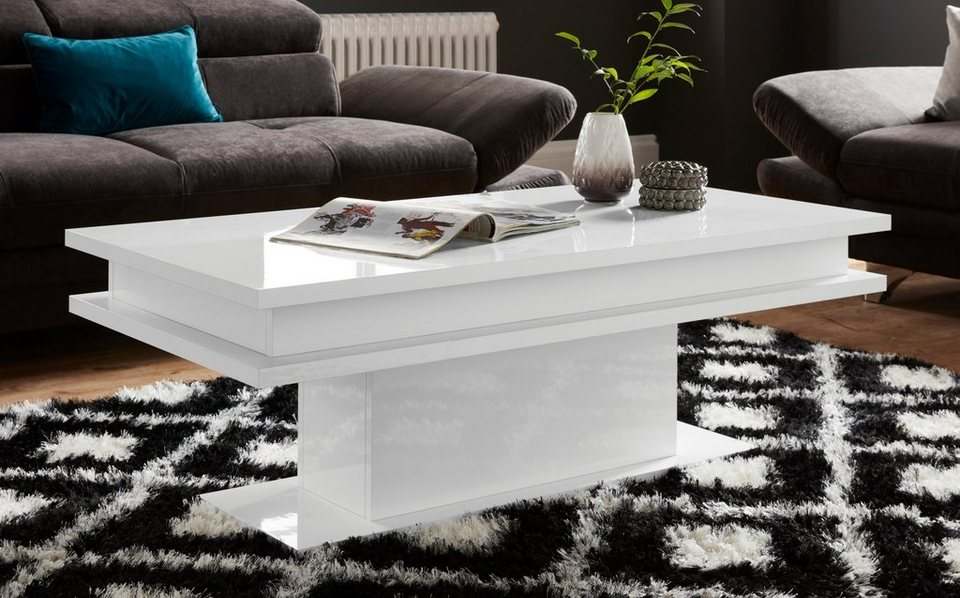 tecnos couchtisch wahlweise mit rgb beleuchtung otto. Black Bedroom Furniture Sets. Home Design Ideas