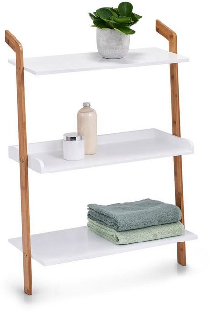 Badregale - Zeller Present Leiterregal »Bamboo«, Set 5 tlg., 3 Ablageflächen, je 60 x 30 cm  - Onlineshop OTTO
