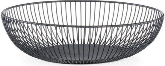 Zeller Present Obstschale, Metall, (1-tlg), in klarem Design