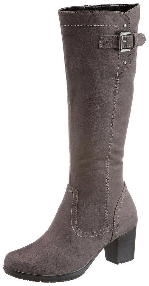 Jana Winterstiefel mit TEX-Membrane und Schuhweite G (weit) | Schuhe > Boots > Winterstiefel | Grau | Jana