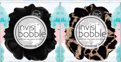 Invisibobble, »SPRUNCHIE«, Scrunchie-Haargummi (2-tlg.)