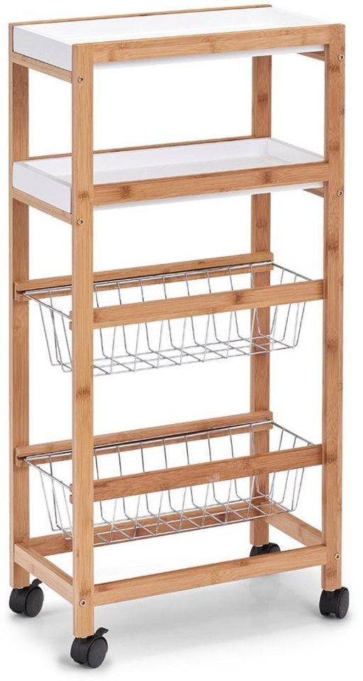 Zeller Present Küchenwagen »Bamboo«, Nischen-Rollwagen von Zeller online  kaufen | OTTO