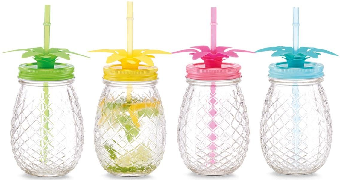 Zeller Present Gläser-Set »Ananas« (4 Stück)