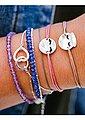 THOMAS SABO Armband »Violett, A1718-061-13-L19v« mit Amethysten, Bild 3