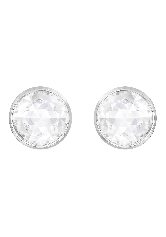 Swarovski Paar Ohrstecker »Hote, mehrfarbig, rhodiniert, DOUBLEFACE, 5301473« mit Swarovski® Kristallen