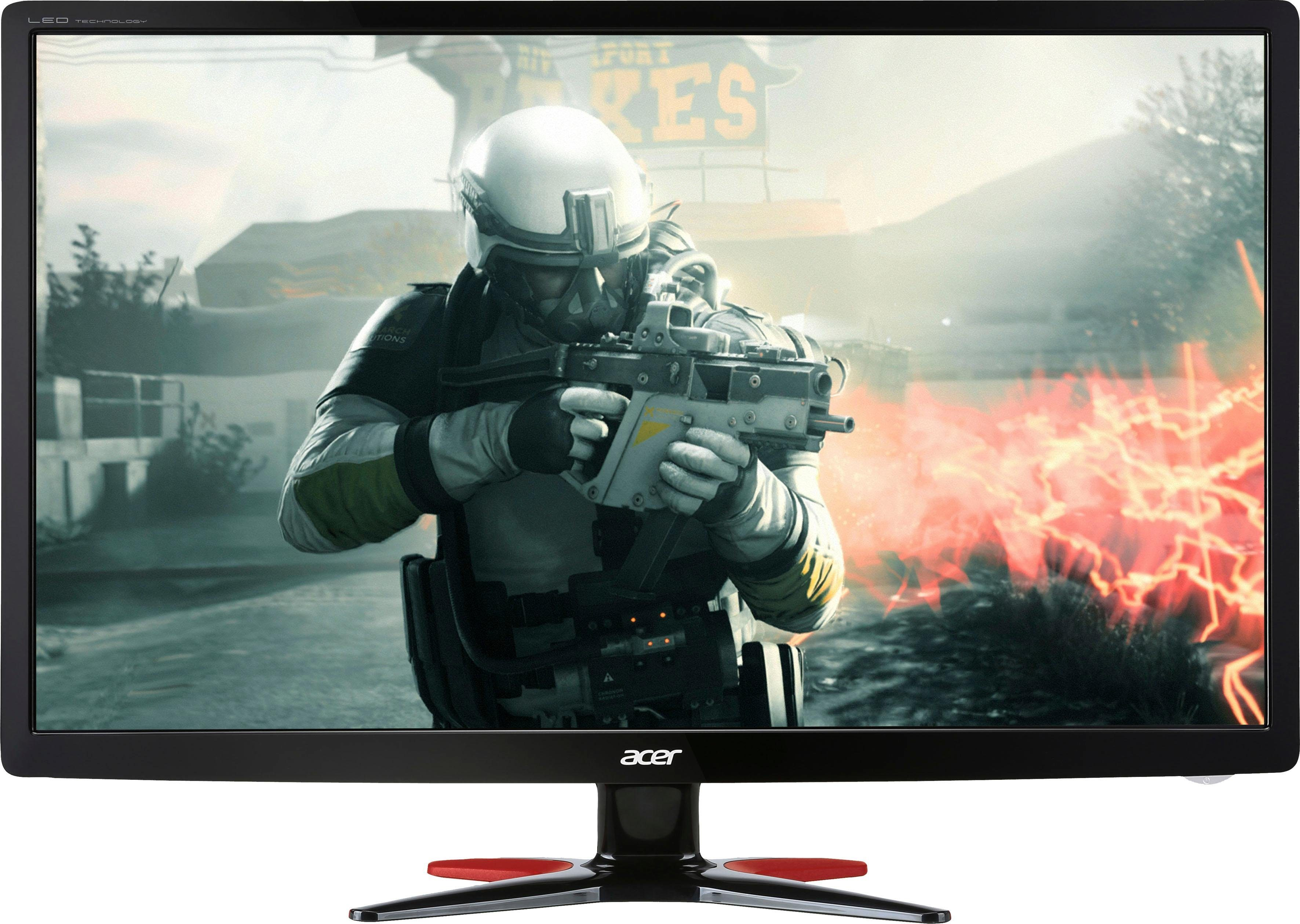 Acer GF246 Gaming-LED-Monitor (1920 x 1080 Pixel, Full HD, 1 ms Reaktionszeit, 60 Hz)