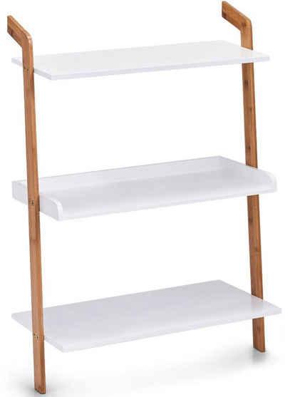 Zeller Present Leiterregal »Bamboo«, Set 5-tlg., 3 Ablageflächen, je 60 x 30 cm