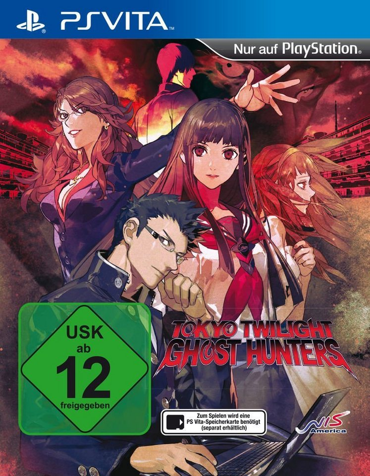 Nis Playstation Vita Spiel Tokyo Twilight Ghost Hunters
