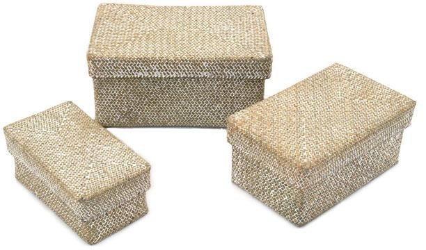 franz m ller flechtwaren aufbewahrungsboxen mit deckel rattanoptik 3er set online kaufen otto. Black Bedroom Furniture Sets. Home Design Ideas