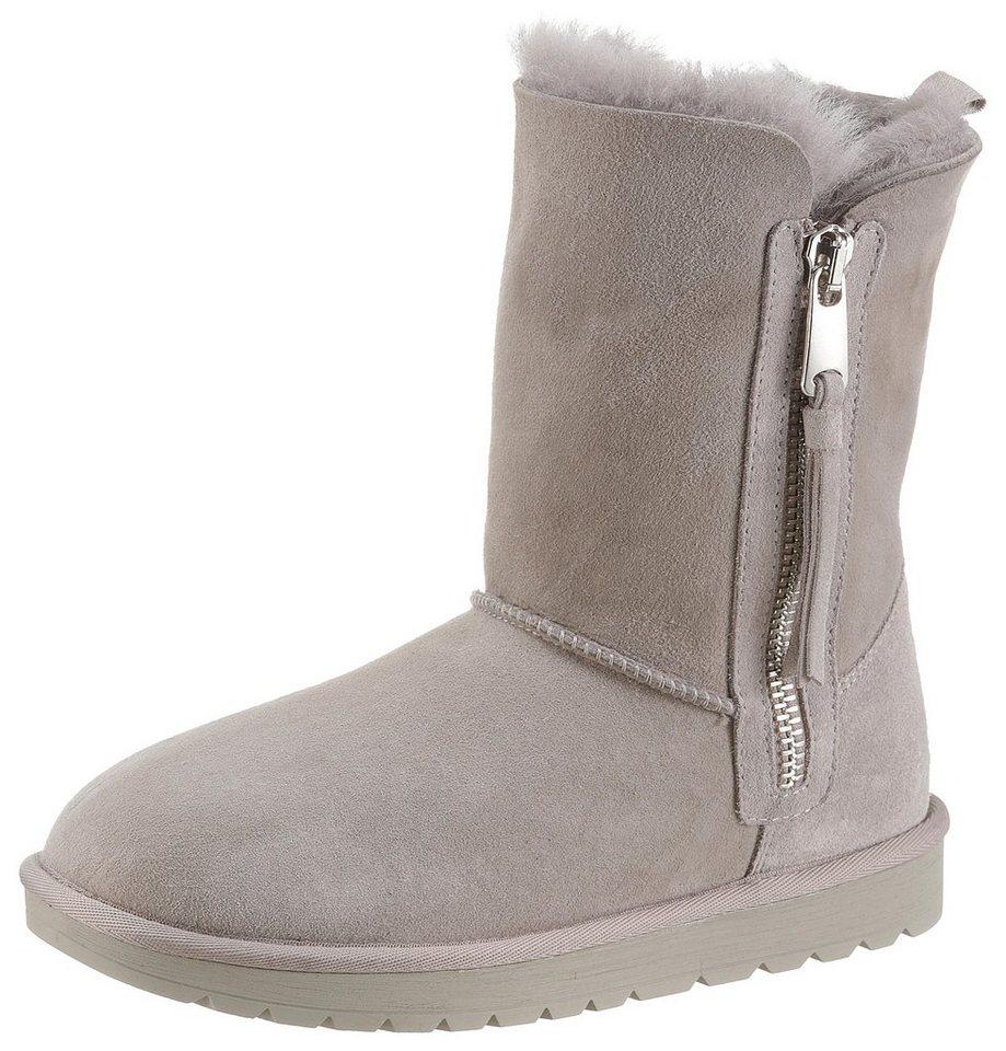 separation shoes b5c95 ac998 Tamaris »Charly« Winterboots mit echter Lammwolle-Innenausstattung online  kaufen | OTTO