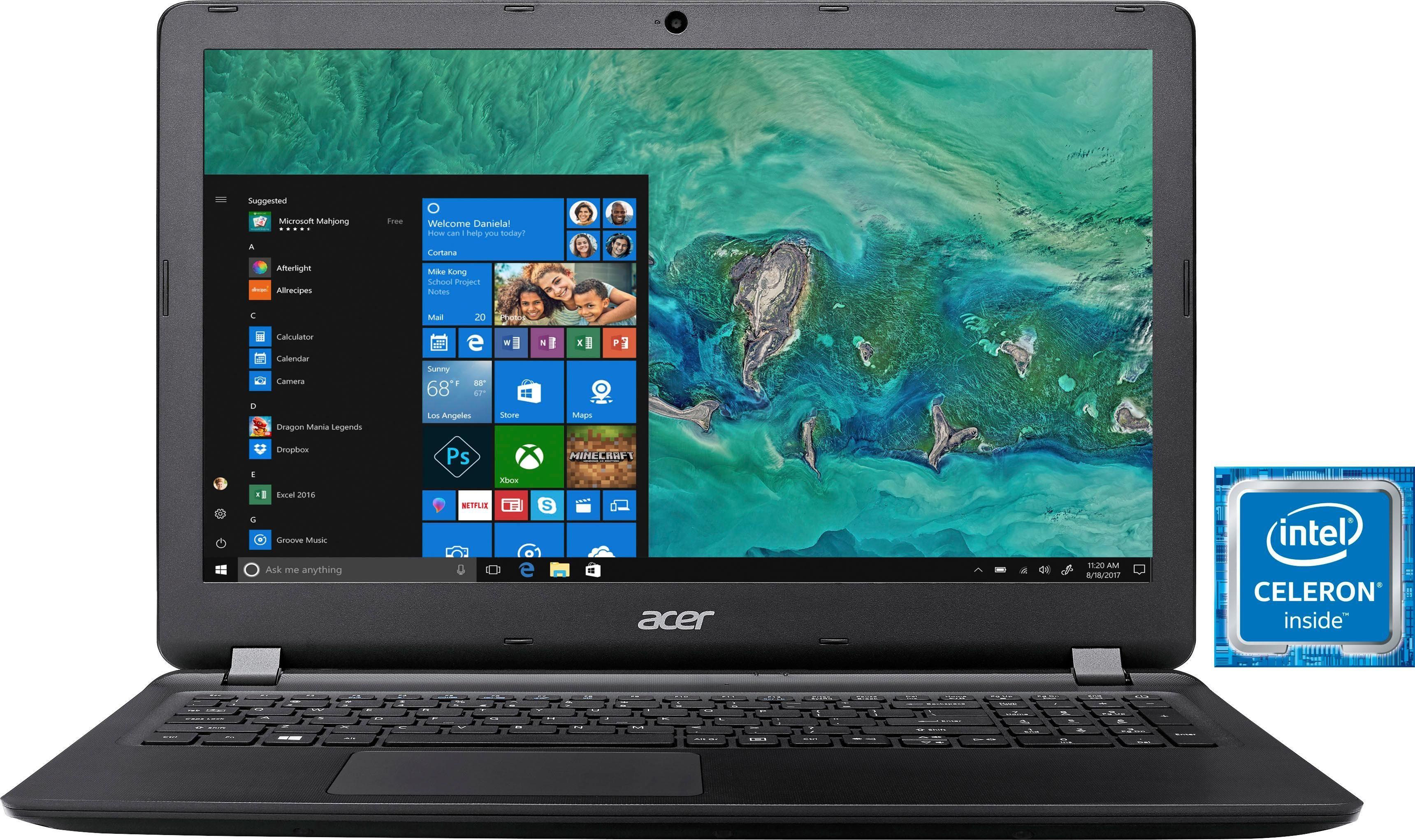 Acer Aspire ES 15 (ES1-533-C504) Notebook (39,62 cm/15,6 Zoll, Intel Celeron, 1000 GB HDD)
