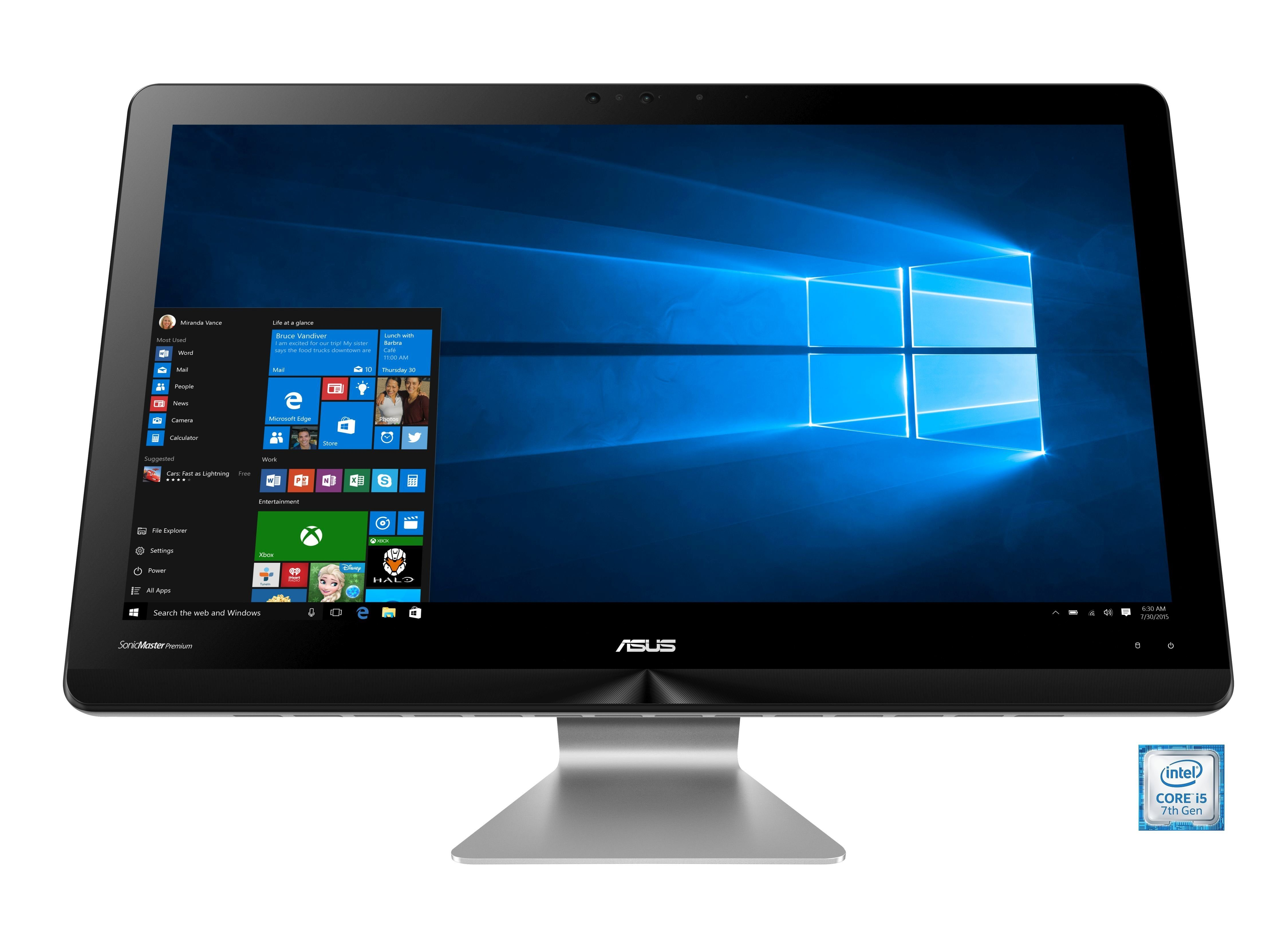 """ASUS ZN241ICGT-RA026T All-in One PC »Intel Core i5, 60,45cm (23.8""""), 128GB + 1TB, 16 GB«"""