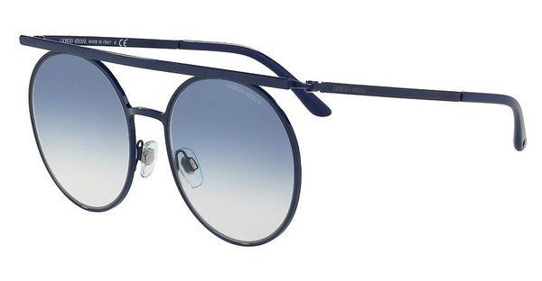 Giorgio Armani Damen Sonnenbrille » AR6069«, grün, 32158E - grün/grün