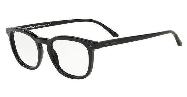 Giorgio Armani Herren Brille » AR7155«, schwarz, 5017 - schwarz