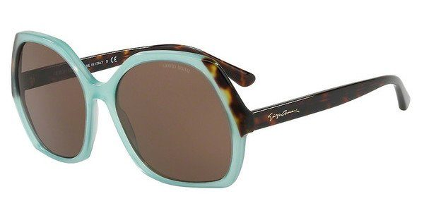 Giorgio Armani Damen Sonnenbrille » AR8099«, grün, 558373 - grün/braun