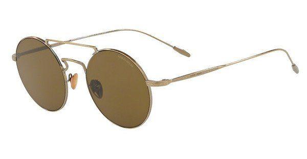 Giorgio Armani Herren Sonnenbrille » AR6072«, braun, 319971 - braun/grün