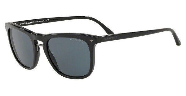 Giorgio Armani Herren Sonnenbrille » AR8107«, schwarz, 5017R5 - schwarz/blau