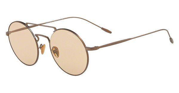 Giorgio Armani Herren Sonnenbrille » AR6072«, braun, 300673 - braun/braun