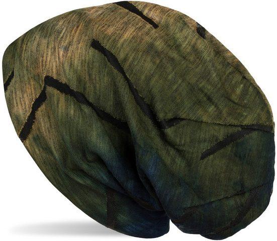 styleBREAKER Beanie »Beanie Mütze Destroyed Batik Farbverlauf« Beanie Mütze Destroyed Batik Farbverlauf