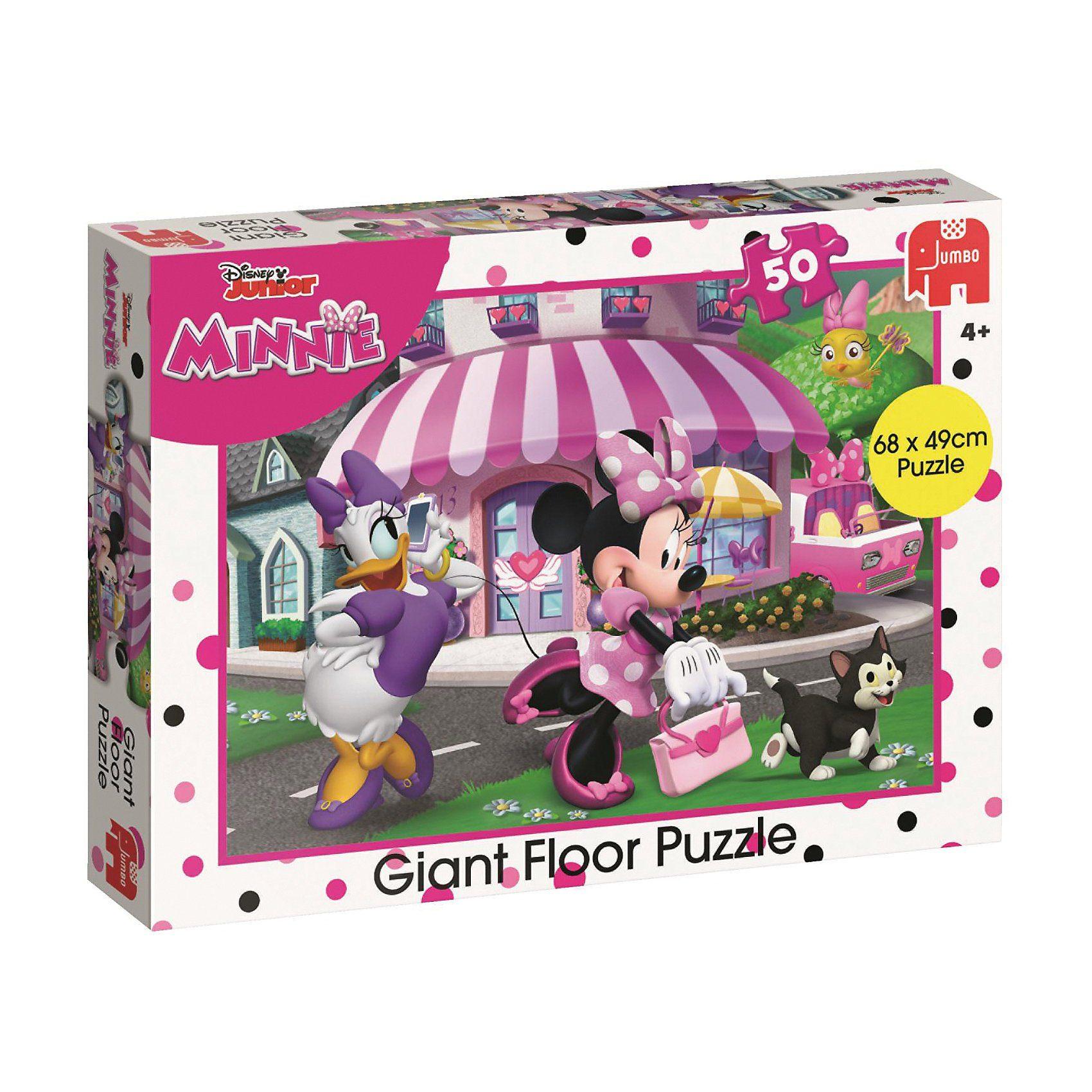Jumbo Bodenpuzzle - 50 Teile - Minnie Mouse