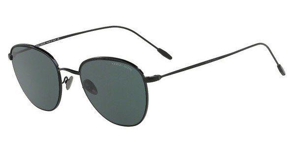 Giorgio Armani Herren Sonnenbrille » AR6054«, schwarz, 300171 - schwarz/grün