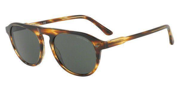 Giorgio Armani Herren Sonnenbrille » AR8096«, braun, 559031 - braun/grün