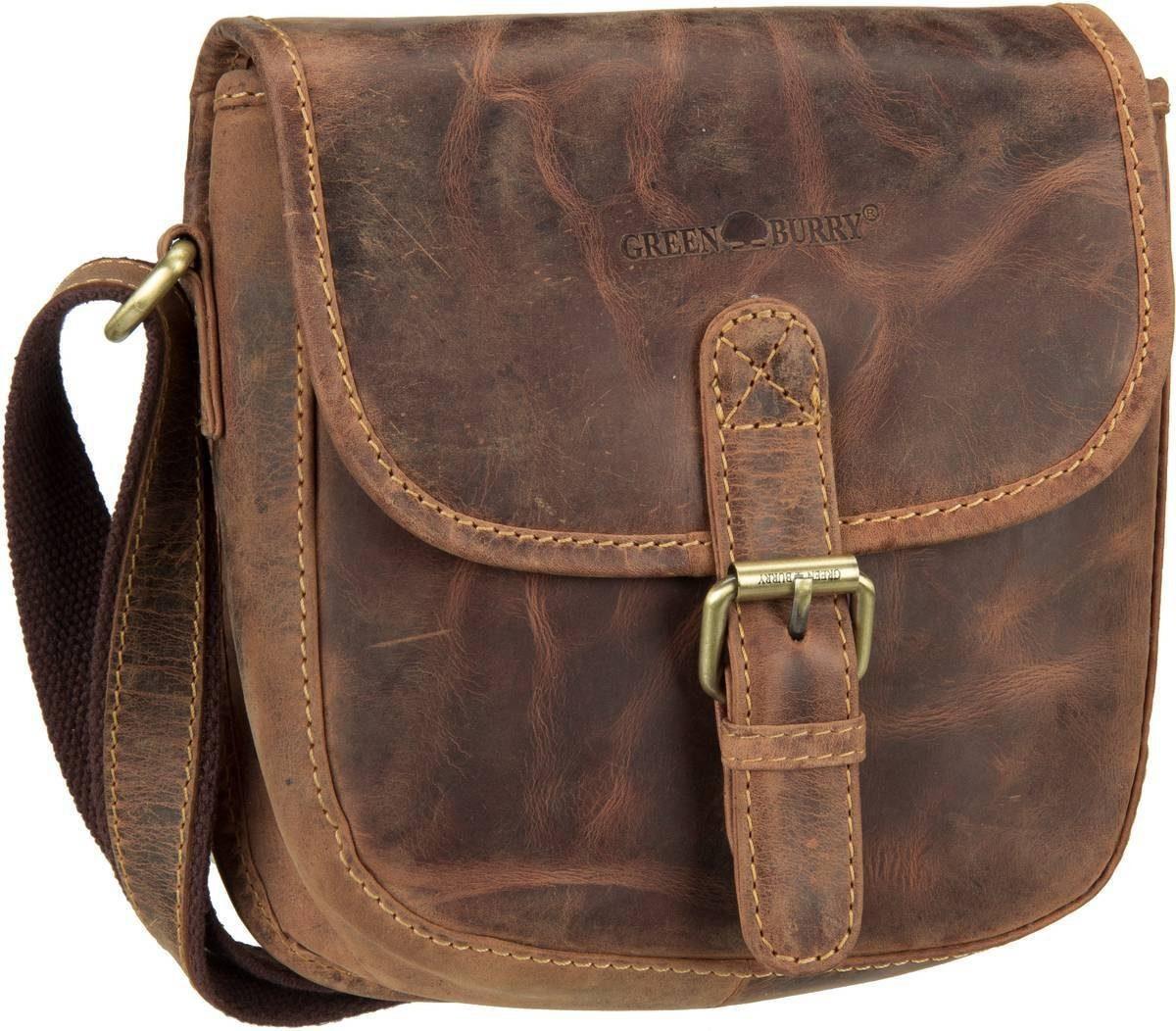 Greenburry Umhängetasche »Vintage 1630 Jagdtasche«