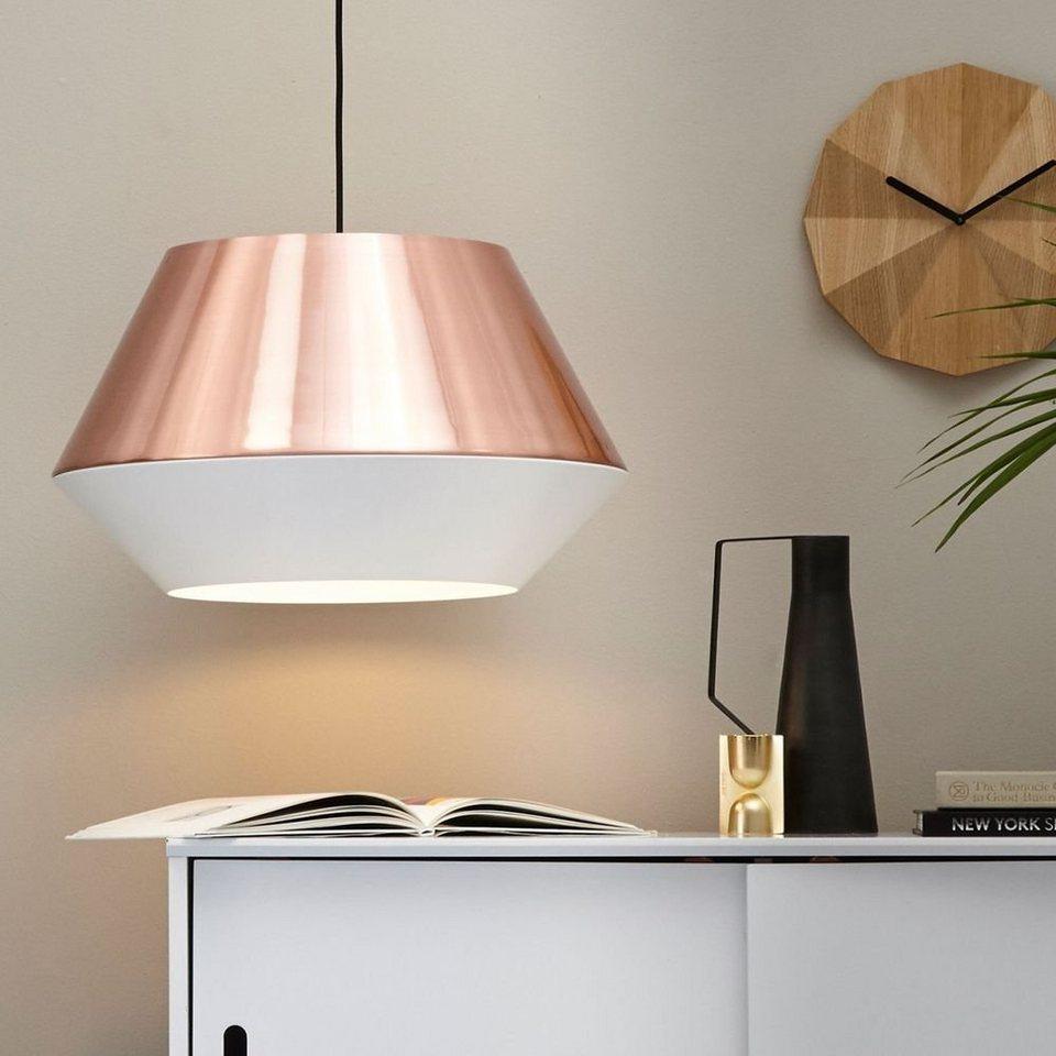 Bekannt s.LUCE Pendelleuchte »LED SkaDa Ø 50cm in Kupfer, Weiß« online HA42