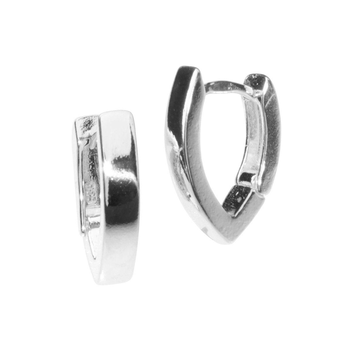 OSTSEE-SCHMUCK Paar Creolen »Babsi 17.38 Silber 925/000«