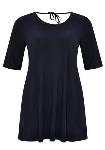 Damen Yoek T-Shirt DOLCE mit kurzen Ärmeln blau | 08718855193380