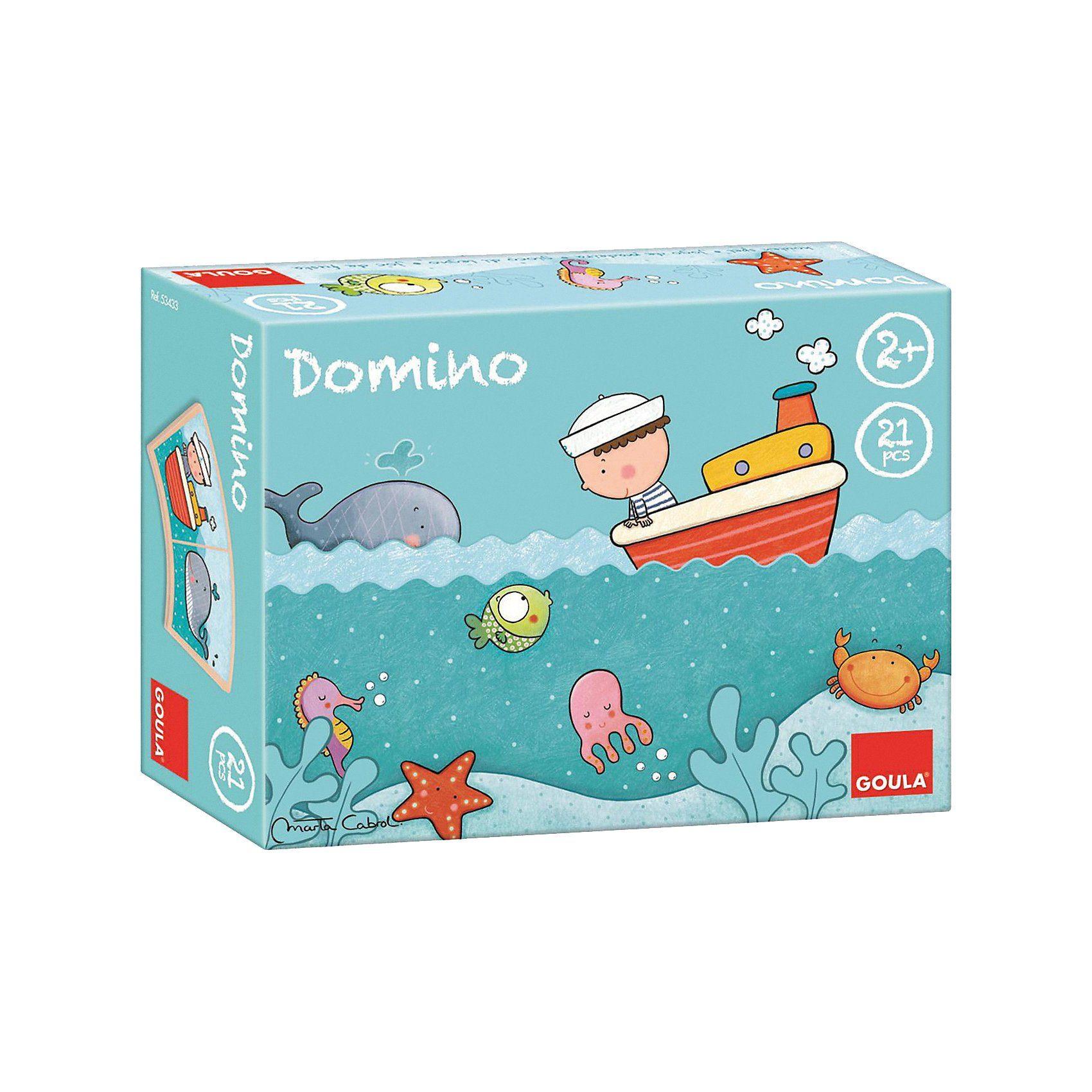 Goula Domino Oscar auf hoher See