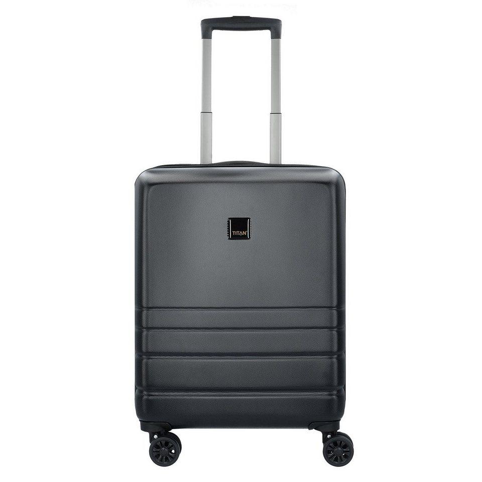 titan liverpool 4 rollen kabinentrolley 55 cm mit. Black Bedroom Furniture Sets. Home Design Ideas