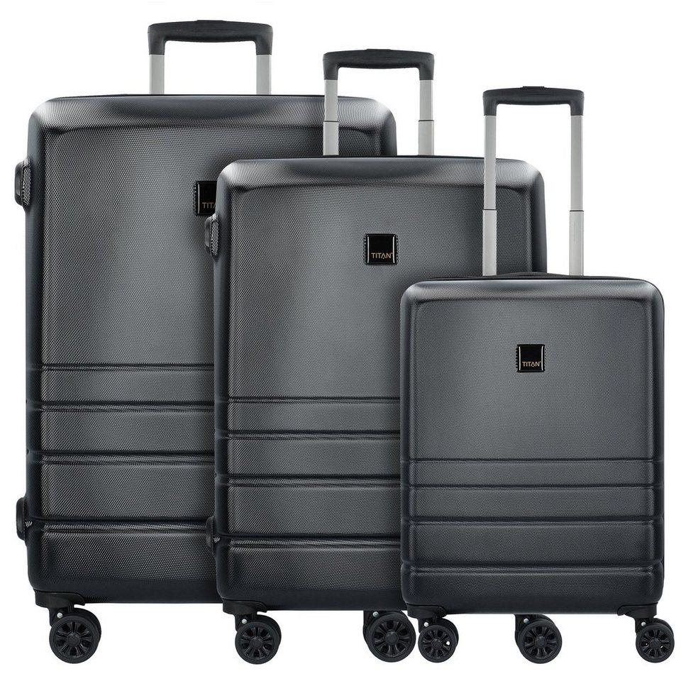 titan liverpool 4 rollen kofferset 3tlg mit doppelrollen. Black Bedroom Furniture Sets. Home Design Ideas