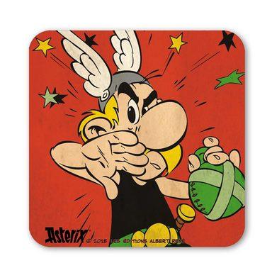 LOGOSHIRT Untersetzer mit Asterix-Druck