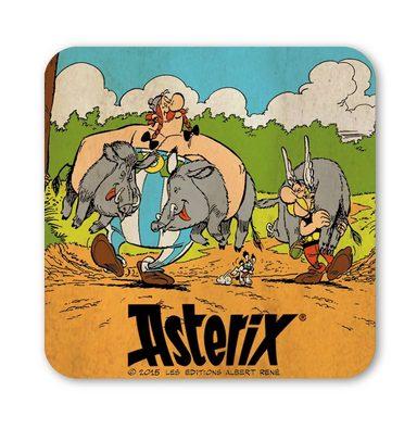 LOGOSHIRT Untersetzer im coolen Asterix und Obelix-Design