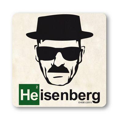 LOGOSHIRT Untersetzer mit Heisenberg-Druck