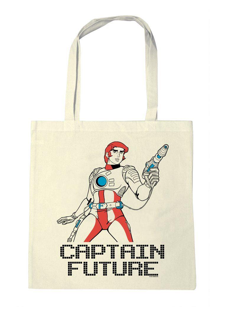 LOGOSHIRT Baumwolltasche mit Captain Future-Motiv